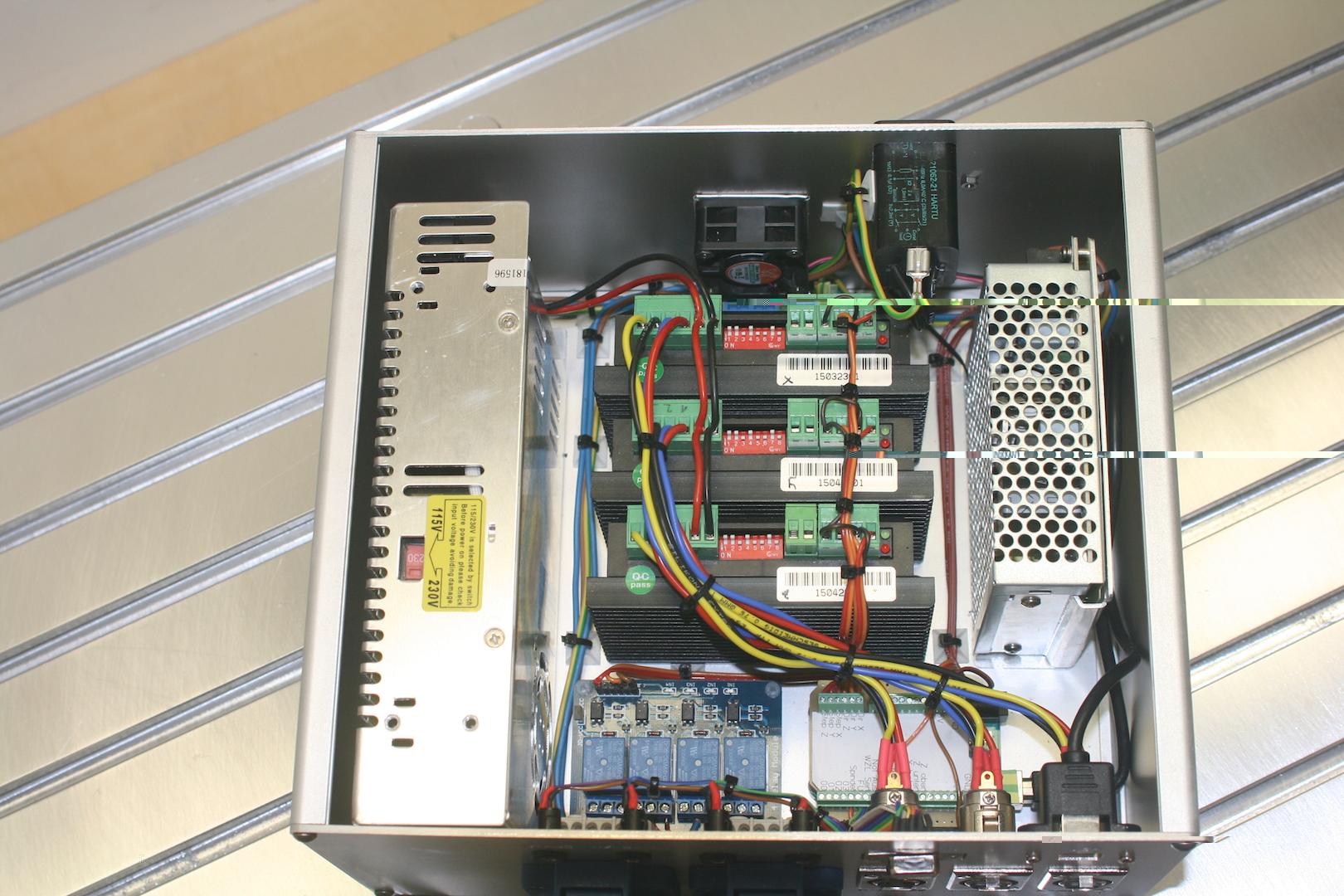 Estlcam CNC Steuerung Schaltplan Arduino Treiber Relais - Sonstige ...